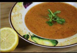 حساء بالسميد أسشتاف أحلبيض أحرواش